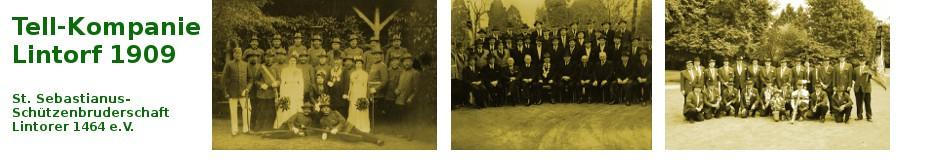Tell-Kompanie Lintorf 1909